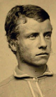 A young Theodore Roosevelt, ca.1875  Nice sideburns...