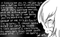 Its all my fault | ITS ALL MY FAULT:: by Breisanerd