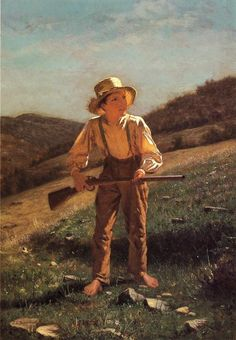 The Anxious Moment by John George Brown