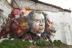 StreetArt Roma: Mea Maxima Culpa   C215   2013   Zona: Ostiense   #art #streetart #roma