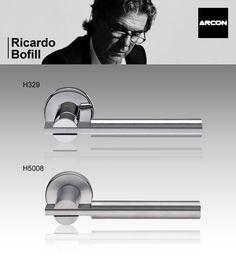 Maneta para puerta H329 y H5008 de Ricardo Bofill para ARCON