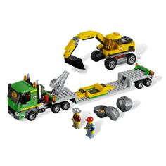 LEGO City Mining Excavator Transport by Lego Systems, Inc. - $44.95