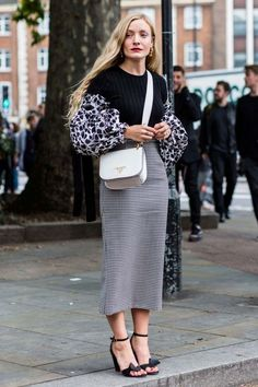 Street style from London fashion week spring/summer '17:                                                                                                                                                                                 More