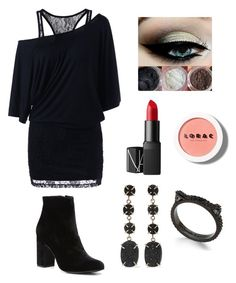 """""""story"""" by syddie-winchester on Polyvore featuring Witchery, NARS Cosmetics, LORAC, Melissa Joy Manning and Kate Spade"""