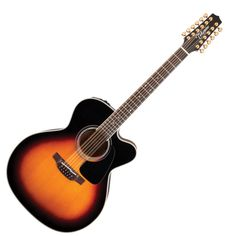 Takamine Pro Series P6JC12 12 String Jumbo Cutaway Electro Acoustic at Gear4music.com