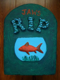 For 'Jaws' the goldfish