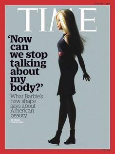 #Barbie fait la #une du #TimeMagazine