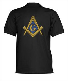 31$ Freemason Polo shirt with Large symbol on the Back