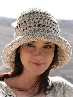 Летняя шляпа панама