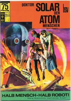 Cover for Doktor Solar (BSV - Williams, 1966 series) #23