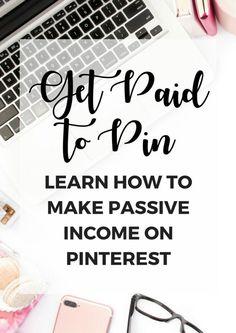Make money on Pinterest with affiliate links #affiliatelink