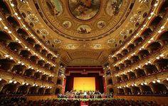 catania-sicily: il teatro massimo, intitolato a vincenzo bellini