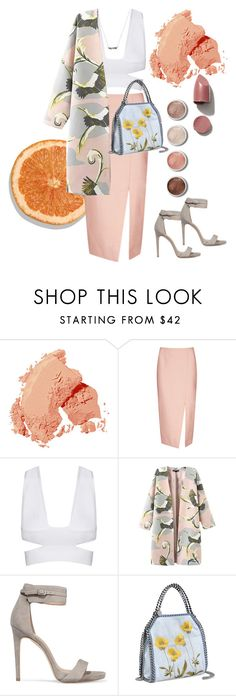 """""""Orange Crush: Polyvore Summer Style"""" by julianna-salguero ❤ liked on Polyvore featuring Bobbi Brown Cosmetics, Terre Mère, C/MEO COLLECTIVE, Halston Heritage, STELLA McCARTNEY, contestentry, styleinsider and pvstyleinsider"""