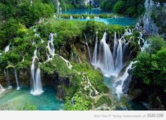 Falls in Croatia