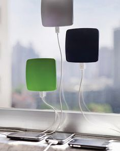 Get the solar power you need to charge any smartphone with the Window Cling Solar Charger for your electronics - www.MyWonderList.com