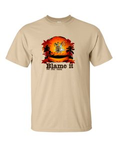 Blame It on The Rum T-shirt
