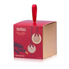 Candied orange peels in dark chocolate - the Neuhaus Orangettes are one of our favorite Christmas gift ideas every year. Neuhaus; $21