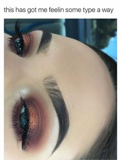 Burgundy/Brown Gold Halo makeup look