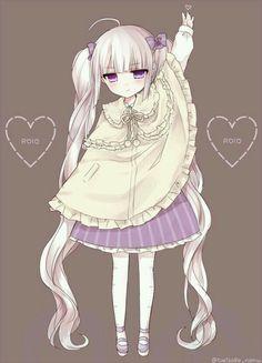 anime and anime girl image Anime Oc, Anime Angel, Cute Anime Chibi, Art Anime, Anime Art Girl, Manga Art, Manga Anime, Kawaii Anime Girl, Loli Kawaii