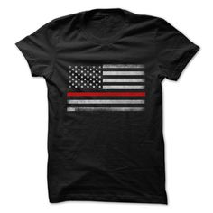 RED THIN LINE - *Not Available in stores... (You wont find this exclusive shirt anywhere else) - We accept Paypal and amp; All major credit cards. (Guaranteed Secure!) - - We Ship Worldwide Click the Buy it now to pick your size and ! Dont forget to like and (Firefighter Tshirts)
