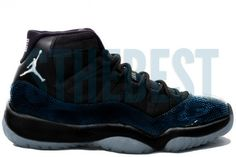 5b6a568f8d39 Air Jordan 11 Retro Black Varsity Maize Gamma Blue Year of the Snake  Holiday 2013 Release