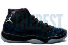 677e9f34808c1e Air Jordan 11 Retro Black Varsity Maize Gamma Blue Year of the Snake  Holiday 2013 Release