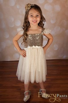 Hey, I found this really awesome Etsy listing at https://www.etsy.com/listing/260551881/flower-girl-dress-gold-sparkle-dress