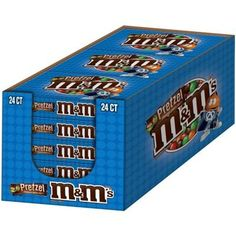 M&M - Pretzel, oz bag, 24 count Chocolate Candy Brands, Chocolate Shop, Like Chocolate, Candy Recipes, Gourmet Recipes, Free Coupons By Mail, French Vanilla Creamer, Food Png, Peanut Candy