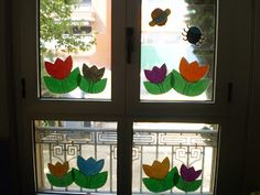Llum i color a les finestres