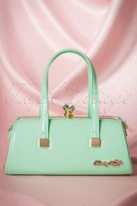 Dancing Days by Banned Janet Handbag in Mint 212 40 17867 03302016 015W