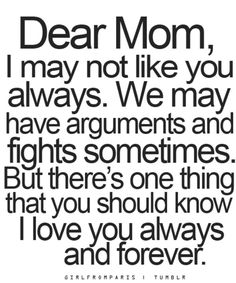 Mom Quotes From Daughter Pleasing Mother Fills All Places  Mothersdayfathersday  Pinterest