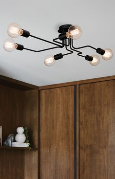 the beacon lighting pac 6 light close to ceiling pendant in black beacon lighting pendant lights
