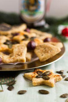 Herzhafte Käse Plätzchen // Savory cheese cookies