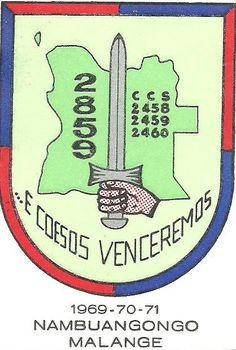 Batalhão de Caçadores2859 Beira Baixa, região dos Dembos 1969/1971 Angola