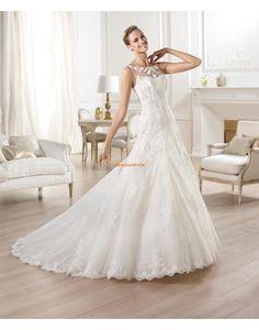 Vår 2014 Elegant & Lyxig Naturlig Bröllopsklänningar 2014