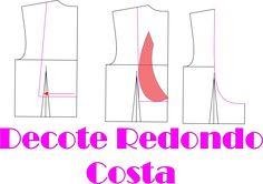 Vídeo aula modelagem decote redondo costa Exclusivo para membros Vip veja como fazer sua assinatura http://claudineiaantunes.com.br/2015/05/12/venha-ser-vip-site-com-conteudo/