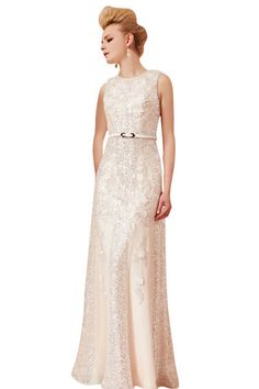 7bfcc27a52 Pink Column Strapless Wedding Gown with Sequins (30390) £350.00 .