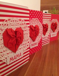 Mothers day greeting cards Mother's Day Greeting Cards, Mothers, Gift Wrapping, Handmade, Gifts, Manualidades, Gift Wrapping Paper, Hand Made, Presents