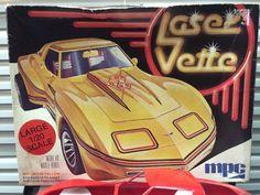 VTG 1979 MPC Model Kit #1-0743  LASER VETTE  Great Builder #MPC10743