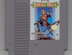 """Castlevania II"""" - NES - R$ 180. No Museu do Videogame"""