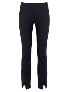 Click here to buy The Row Thilde skinny-fit split-cuff trousers at MATCHESFASHION.COM