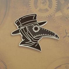 "94 Likes, 5 Comments - Pinsanity (@pinsanityusa) on Instagram: ""New Plague Doctor's Mask Enamel Pin by Pinsanity"""