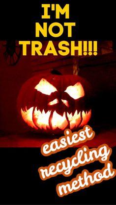 Spooky Halloween Costumes, Halloween Yard Decorations, Halloween Jack, Easy Halloween, Halloween Birthday, Birthday Fun, Halloween Crafts, Composting Methods, Worm Composting