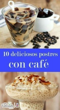 10 deliciosos postres con café que tienes que probar en la vida-Atıştırmalık tarifler Köstliche Desserts, Delicious Desserts, Dessert Recipes, Yummy Food, Tasty, Mexican Food Recipes, Sweet Recipes, Truck Cakes, Coffee Recipes