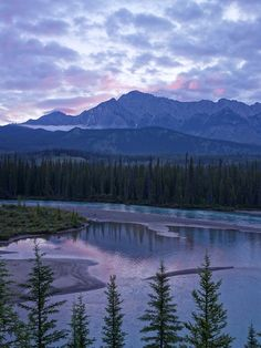 A beautiful morning view of Mt. Ishbel and the Bow River in Banff National Park. Easy Like Sunday Morning, Morning View, Banff National Park, National Parks, Canadian Rockies, Beautiful Morning, Gate, Journey, Bow