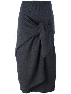Antonio Marras jupe en maille à design noué