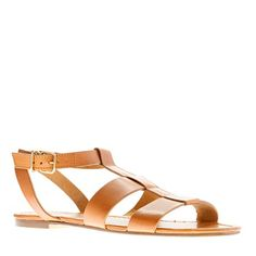 J. Crew sandals.  Reminds me of my favourite Lord and Taylor leather sandals circa 1984.  Oh did I love those and wear them into the ground!