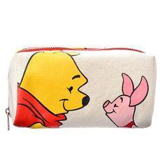 Pooh & Piglet Canvas Wallet