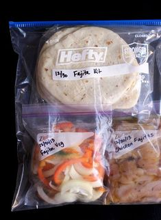 The Art and Craft of Frozen Dinner Kits  Freezer Friendly from Jessica Fisher
