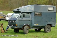 PHOTO T3 (transporter) - Page 2 Volkswagen Typ2 T3 Syncro Wohnmobil